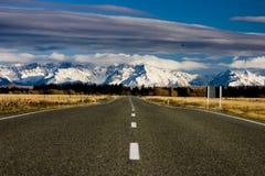 Straße zum Mt-Koch Lizenzfreie Stockfotos