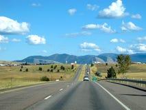 Straße zum Westen Stockfoto