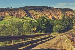 Straße zur roten Schlucht (Rapa Rosie) Stockfotos