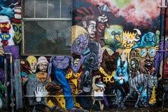 Straßen-Geschöpfe Stockbild