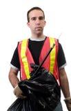 Straßen-Reinigungsmittel Stockfoto