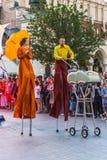 Straßen-Theaterfestival Lizenzfreie Stockfotografie