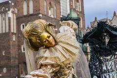 Straßen-Theaterfestival Stockfoto