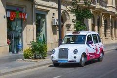 Straßen von Baku-Stadt Lizenzfreie Stockbilder