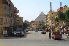 Straßen von Kairo Stockbild