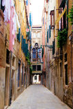 Straßen von Venedig Stockfoto