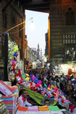 Straßenansicht Ägyptens Kairo in Afrika Lizenzfreies Stockfoto