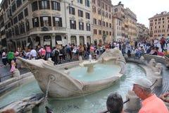 Straßenansicht in Rom, Italien Stockbilder