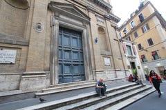 Straßenansicht in Rom, Italien Stockfoto