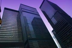 Straßenansicht, unten Stadt, Toronto, Ontario, Kanada Stockfoto