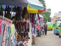 Straßenhändler in Bogor Lizenzfreies Stockbild