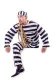 Straffångebrottsling Fotografering för Bildbyråer