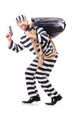 Straffångebrottsling Arkivbilder