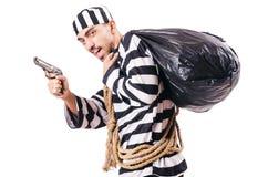 Straffångebrottsling Arkivfoton