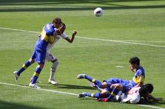 Straffoul im Emirat-Cup Lizenzfreies Stockbild