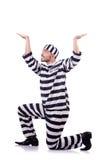 Strafgefangeneverbrecher Stockbild