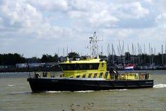 Strafverfolgungs-Patrouillen-Schiff RWS70 (Rijkswaterstaat) Stockfotografie