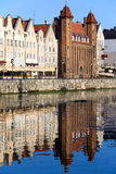 Straganiarska Gate in Gdansk Stock Photography