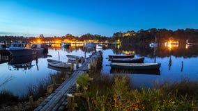 Strahan, Tasmânia Imagens de Stock Royalty Free