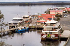 Strahan Village Tasmania Stock Photography