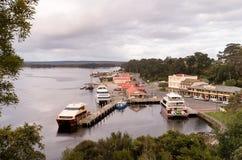 Strahan Village Tasmania Stock Images