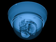 Strahl x Überwachungskamera- oder cctv-Kamera vektor abbildung