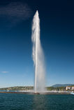 Strahl d'eau Lizenzfreies Stockfoto