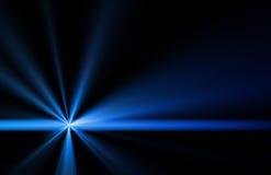 Strahl der Leuchte lizenzfreie abbildung