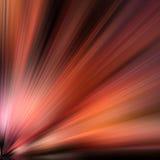 Strahlen der farbigen Leuchte Lizenzfreies Stockbild