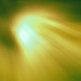 Strahlen der farbigen Leuchte Stockfotografie