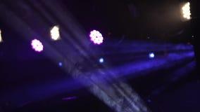Strahlen der Leuchte Hintergrund 23 stock video footage