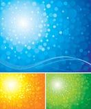 Strahlen-Hintergrund Stockbild