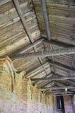 Strahlen im Gebäude Stockfotos