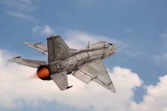 Strahlen-Kämpfer MIG-21 Stockfotos
