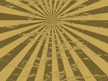 Strahlen Sie gesprenkeltes Gold aus Stockfoto