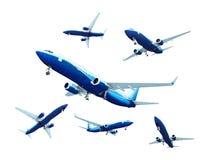 Strahlenflugzeug Lizenzfreies Stockfoto