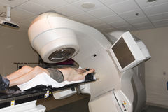 Strahlentherapie-Behandlung stockfotografie