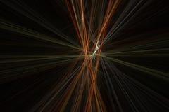 Strahlt Fractal aus Lizenzfreie Stockfotografie