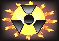 Strahlung Stockbild