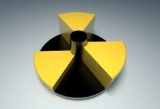 Strahlung. lizenzfreie stockbilder