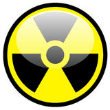 Strahlungssymbol Stockfotografie