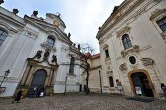 修道院布拉格strahov 图库摄影