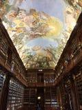 Strahov Bibliothek in Prag Lizenzfreie Stockfotografie