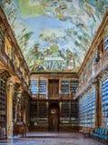 PRAGUE, CZECH REPUBLIC - SEPTEMBER 6, 2017. Strahov convent library, Prague, Czech Republic. Strahov convent library, Prague, Czech Republic Royalty Free Stock Image