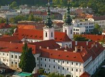 strahov de 02 monastères Image libre de droits