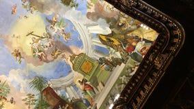 strahov de Prague de bibliothèque Photo stock