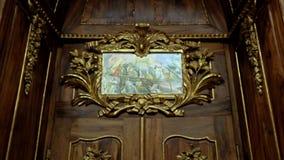 strahov de Prague de bibliothèque Photos libres de droits