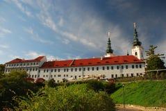 Strahov kloster Royaltyfri Foto