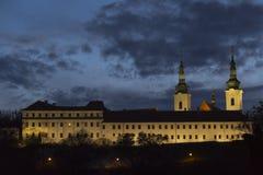 Strahov kloster Royaltyfri Fotografi