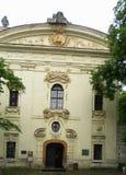 Strahov-Kloster in Prag Stockfotografie